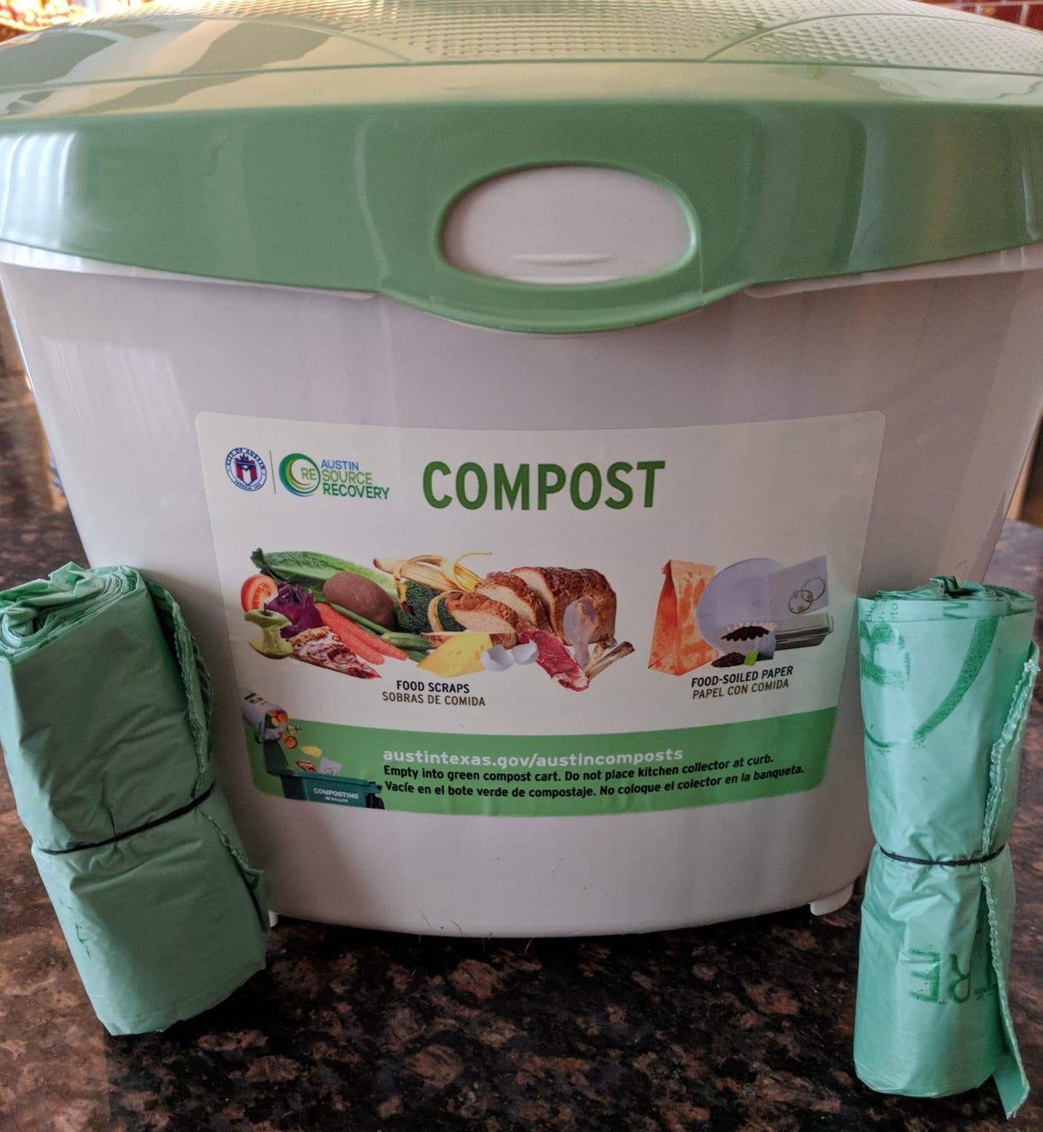 Kitchen Compost Collectors