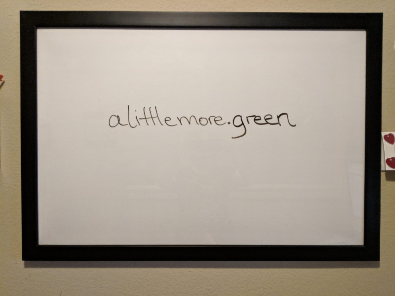 RETHINK: Dry Erase Boards & Picture Frames