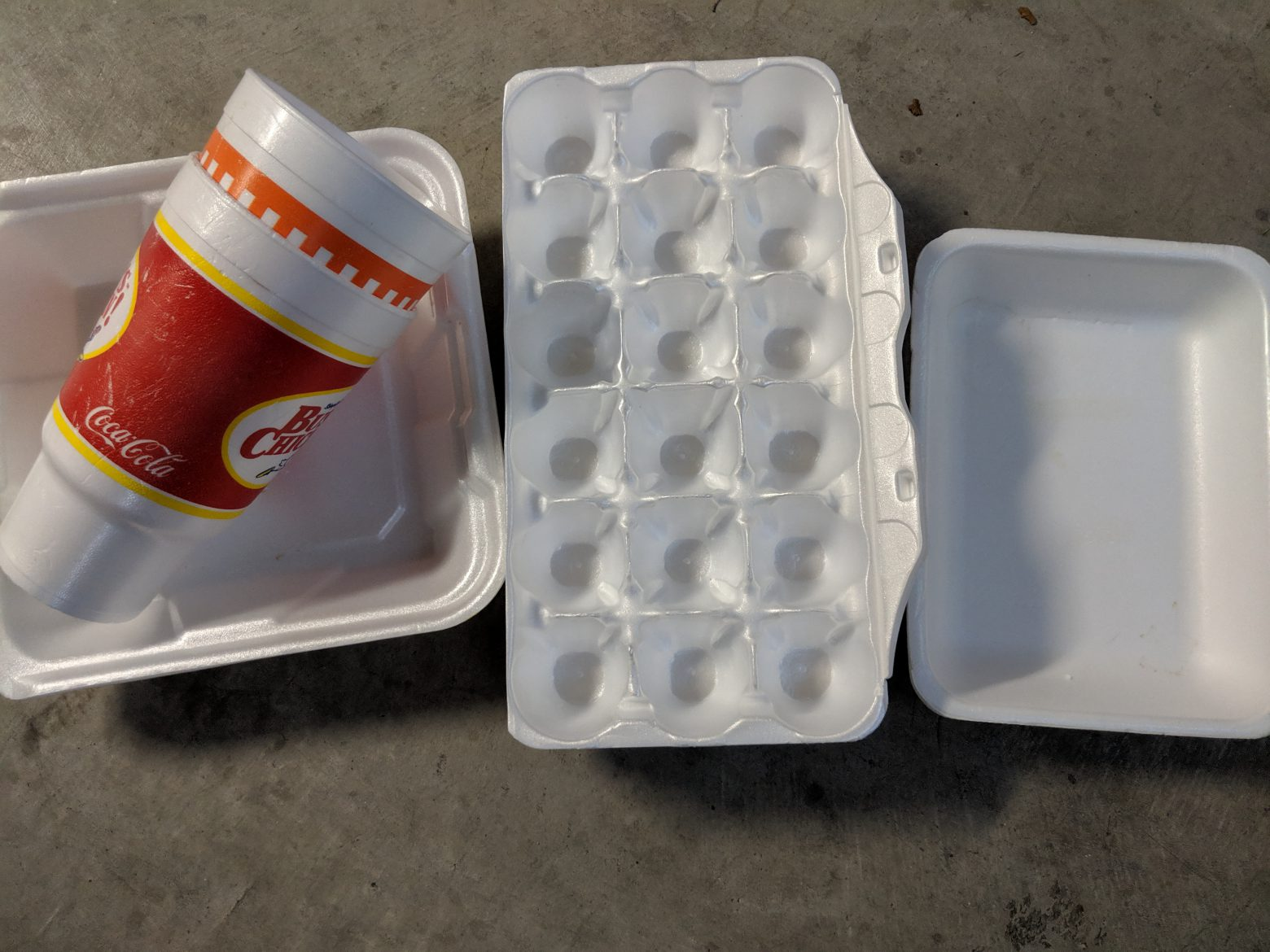 To-Go, Egg, & Meat Foam Containers