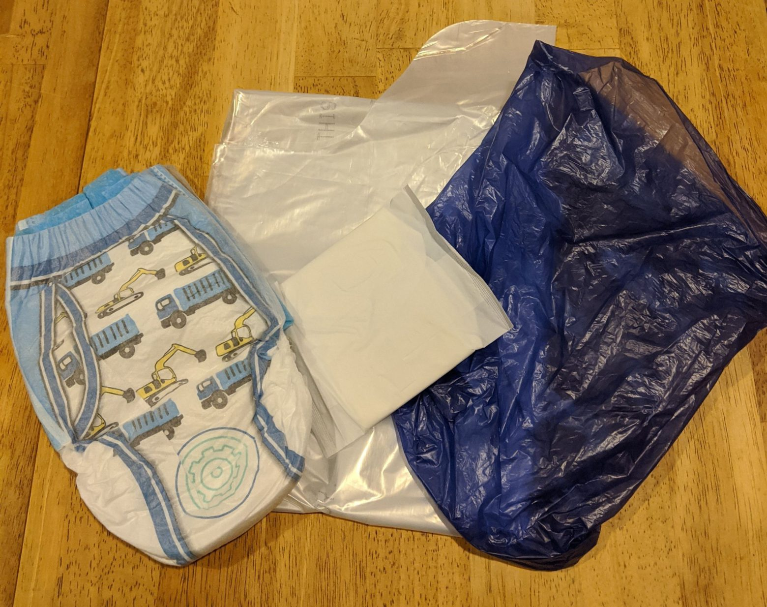 Best Intentions: Pet waste bags, trash bags, menstrual products, diapers