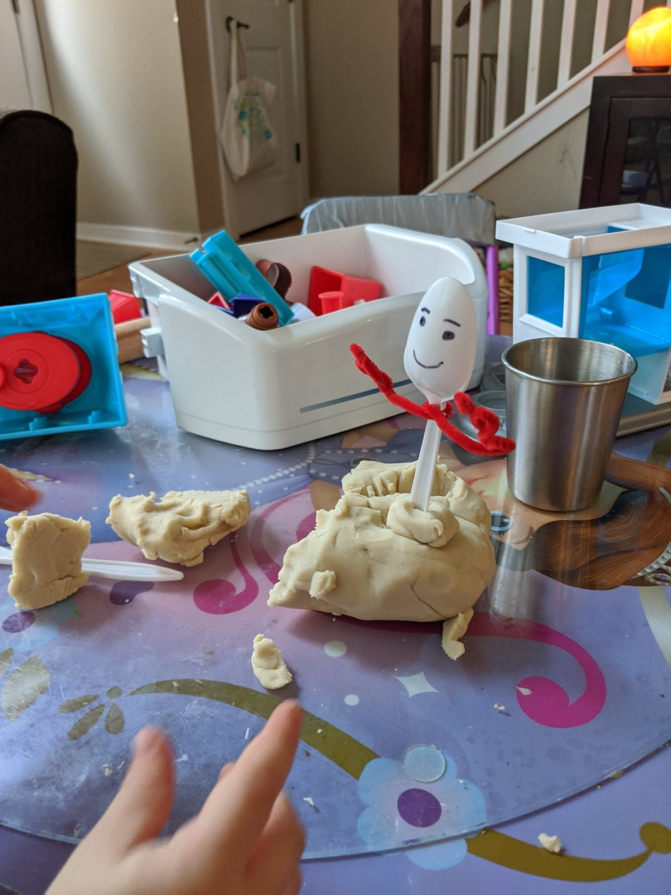 Homemade Zero-waste Play Dough
